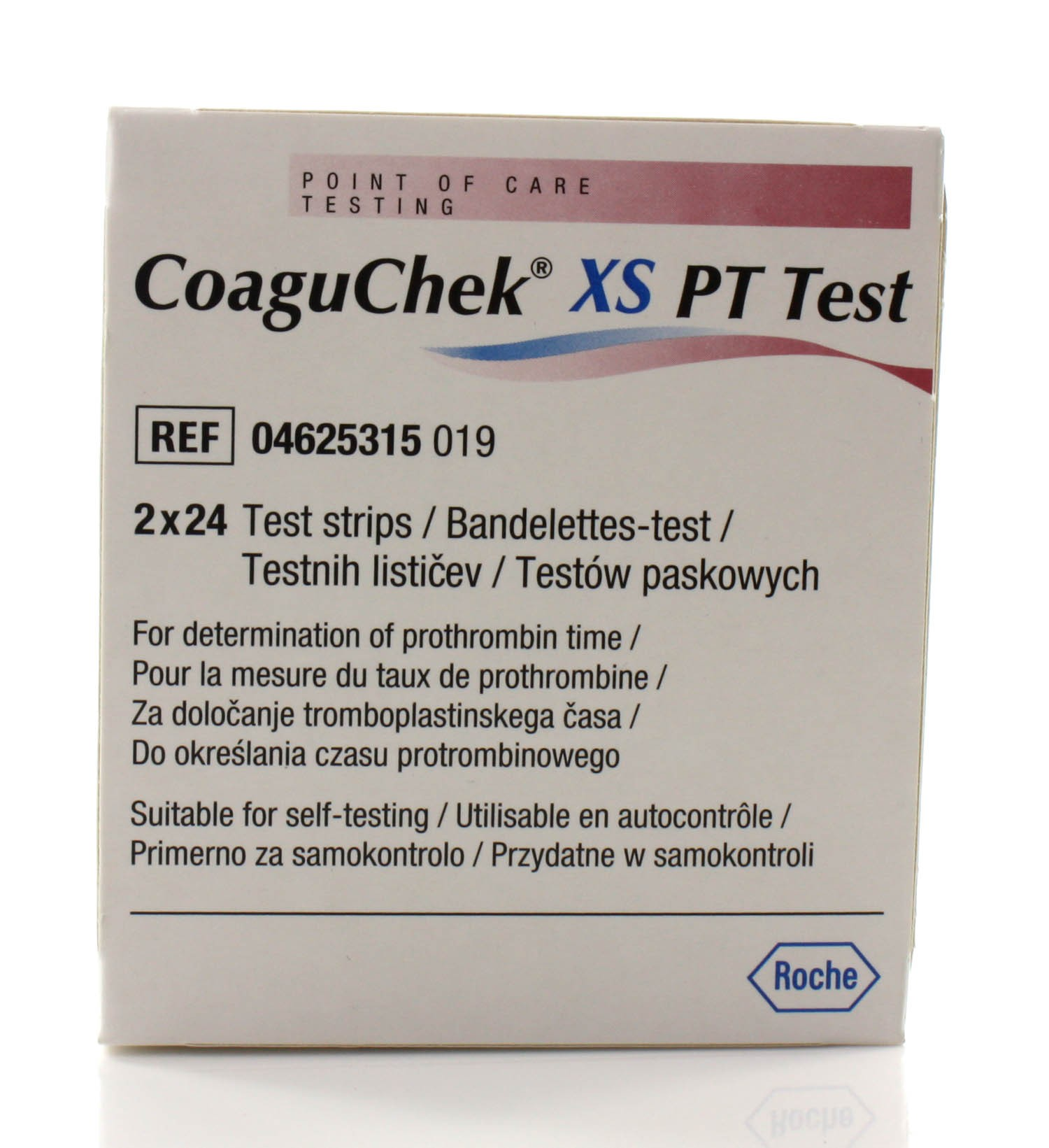 coaguchek xs test strips