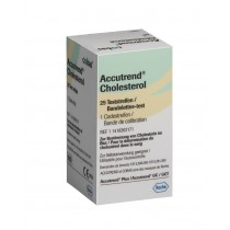Accutrend Cholesterol Strips x 25