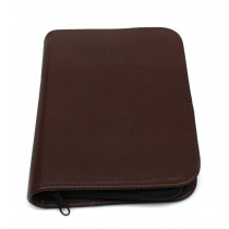 Bollmann Ampoule Holder: Soft Brown Leather
