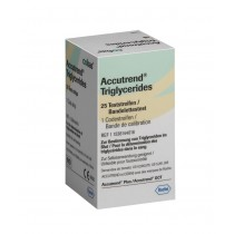 Accutrend Triglyceride Strips x 25