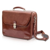 Elite Doctor's Medical Bag – Brown Leather